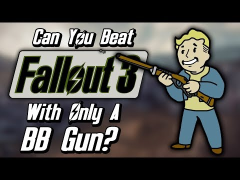 Can You Beat Fallout 3 With Only A BB Gun?