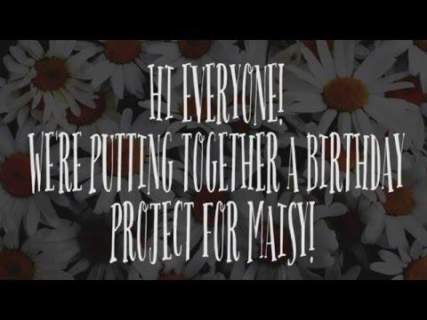 Maisy's 12th Birthday Project