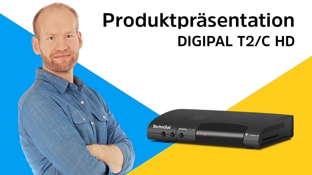 Video: DIGIPAL T2/C HD | HDTV-Receiver für den Empfang von freien, digitalen Kabelprogrammen. | TechniSat