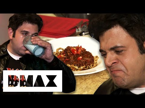 Adam Has A Hell Of A Night With This Ghost Chilli Ragu Sauce | Man V Food