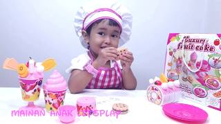 Mainan Anak Es Krim + Potong Kue 💖 Luxury Fruit Cake Toys For Kids 💖 Let's Play Jenica