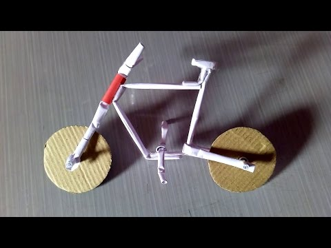 How To Make A Paper Cycle Easy