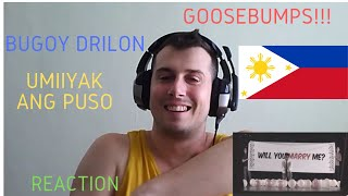 Italian guy reacts to Bugoy Drilon - Umiiyak Ang Puso (Official Music Video) REACTION