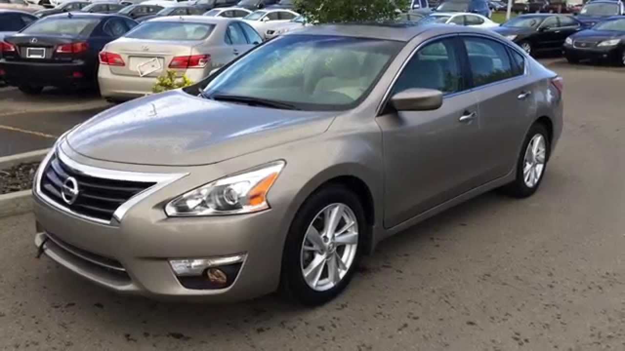 Pre Owned 2013 Nissan Altima SV 4dr Sdn I4 CVT 2.5 Pure Drive   Ardrossan,  AB