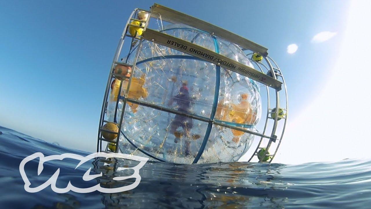 Florida Man Runs to Bermuda in a Giant Bubble | WTFLORIDA