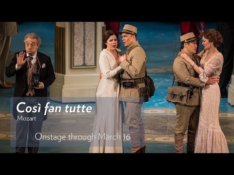 Mozart's COSÌ FAN TUTTE at Lyric Opera of Chicago. Onstage Now through March 16