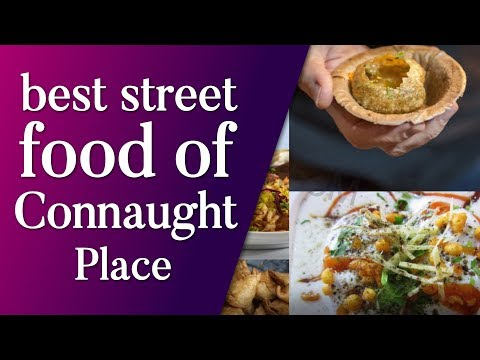 best street food of Connaught place | Bhature, Chaat, Fire Paan, Kulcha & more | Top News Networks