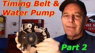 Subaru 2.5 SOHC Timing Belt & Water Pump replacement- Part 2