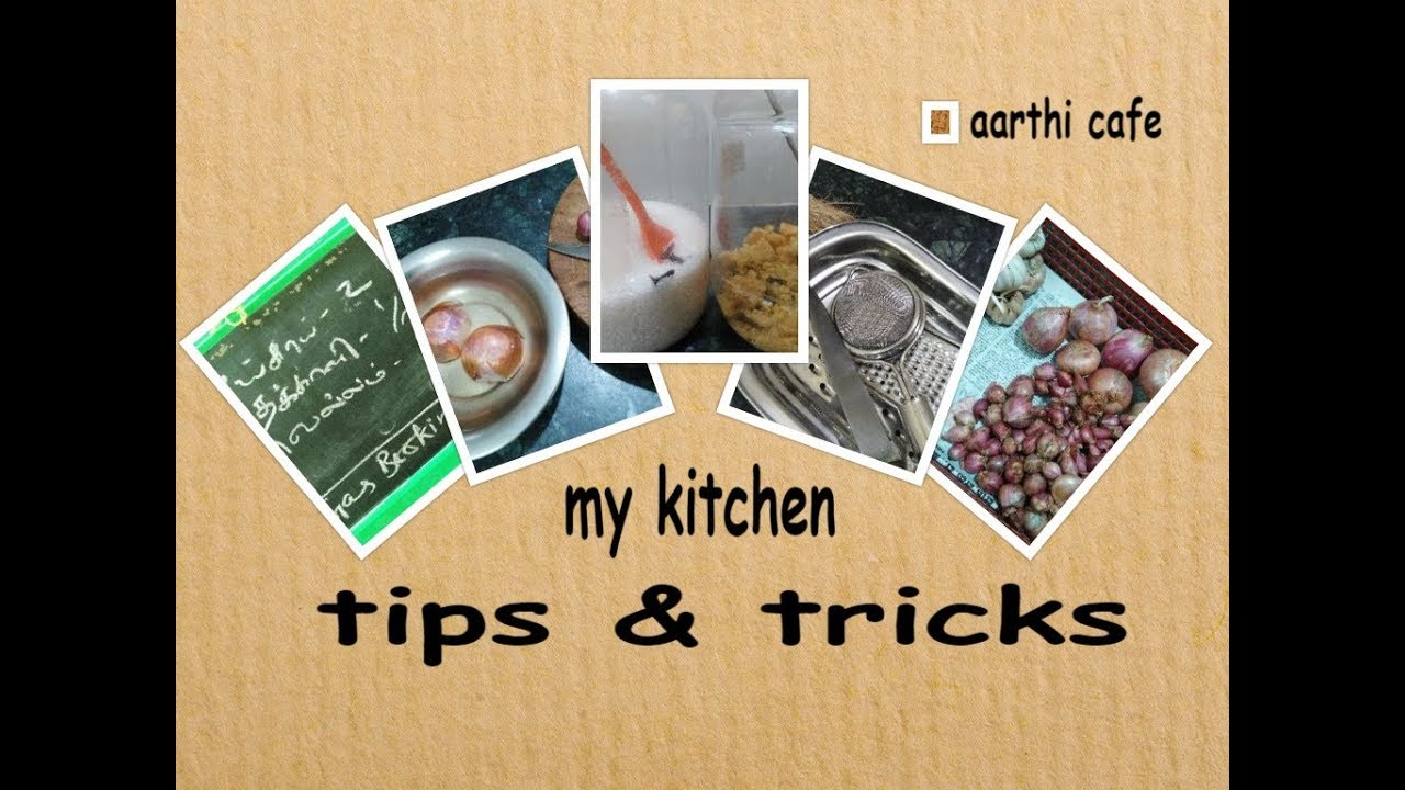 My Kitchen Tips U0026 Tricks | Useful , Simple Ideas | For Beginners Part   1  (With Eng Sub )