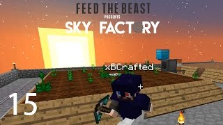 Sky Factory 3 w/ xB - ESSENCE FARMERS [E15] (Minecraft Modded Sky Block)