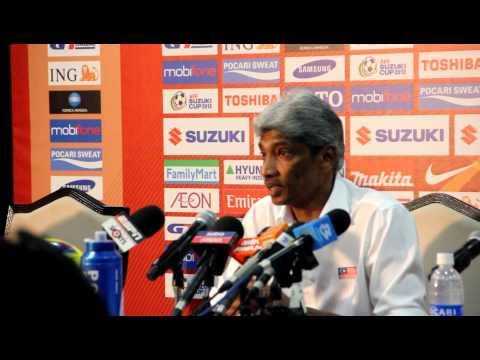 AFF SUZUKI CUP 2012 Malaysia vs Indonesia Post Game Press Conference