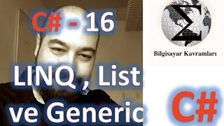 Linq ile bir dizi veya nesne dizisi üzerinden sorgu (query) oluştur...