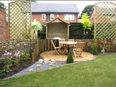 Small garden ideas on a budget youtube for Garden designs on a budget