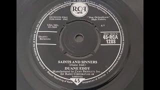 Duane Eddy 'Saints And Sinners' 1962 45 rpm