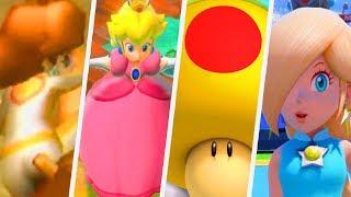 Evolution of Mega Mushroom Girls in Super Mario Games (2000 - 2017)