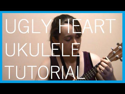 Ugly Heart Ukulele Tutorial - YouTube