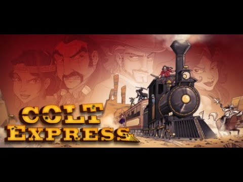 Colt Express Gameplay | Awesome Card Game ! |