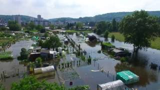 Survol inondation 2016