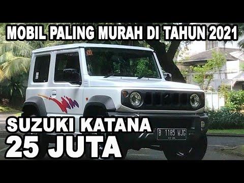 Info Harga Mobil Murah Suzuki Katana Hanya 25 Juta