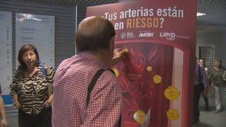 Hospitales españoles realizan 6.000 mediciones para concienciar sobre el colesterol elevado