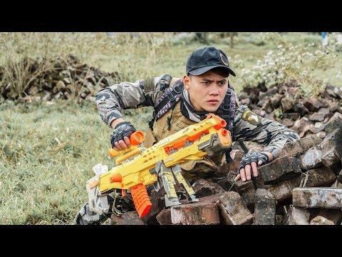 Nerf Guns War : Gun Battle Police Of SEAL TEAM Special With Super Boss XX Criminal Dangerous