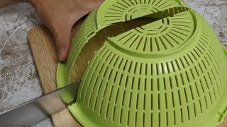 Salad of cooking utensils | stop motion cooking