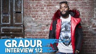 Gradur évoque son succès, ses déceptions, pourquoi il a voulu arrêter le Rap... [INTERVIEW 1/2]