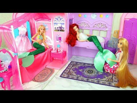 Two Mermaid Princess Bedroom Morning Meerjungfrau Prinzessin Chambre