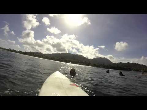 Micronesia Surf Diary, Kosrae Island.