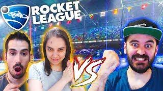 CHAMPIONS VS EUROPA LEAGUE | ROCKET LEAGUE | MrLokazo86