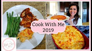 COOK WITH ME | HOMEMADE FRIED CHICKEN, MAC & CHEESE + FLAN | Style Mom XO