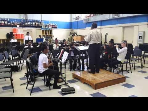 Opelousas Junior High School's 2015-2016 Band