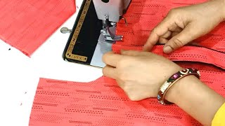 designer suit banana sikhen (step by step) plazo suit set Cutting & Stitching part 2