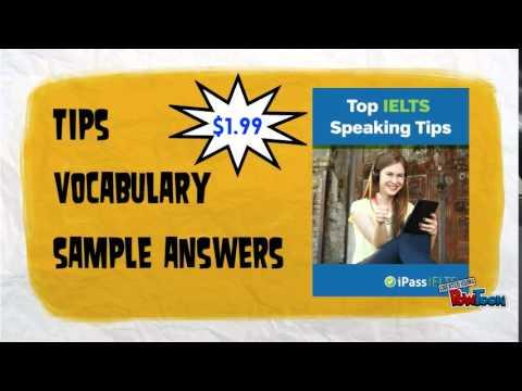 Top IELTS Speaking Tips ebook