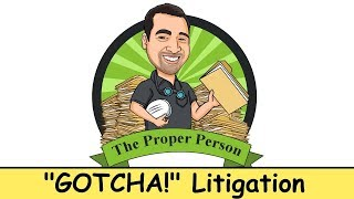 "High Conflict Child Custody: ""Gotcha!"" Litigation"