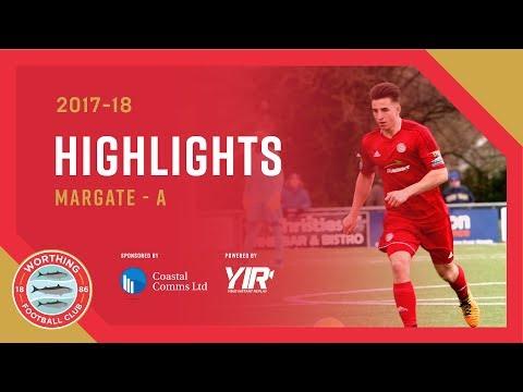 Highlights: Margate 1-1 Worthing – 31.3.18