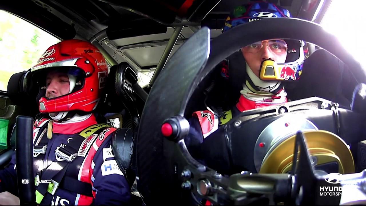 Rally Finland Best of: On-Board Camera Hyundai Motorsport 2017