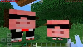 minecraft pe how to spawn the agent pig minecraft pocket edition