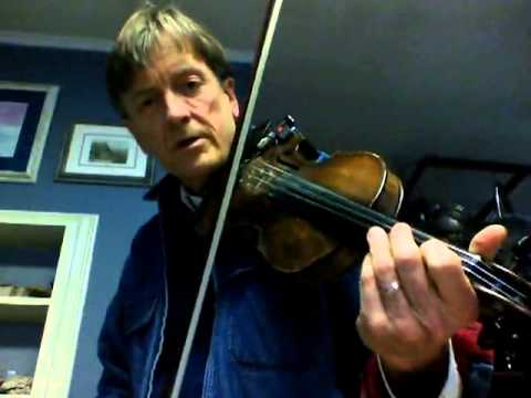 Fiddle lessons by Randy: Beginner Tune 1, Britches Full Of Stitches, Pt 1 slow