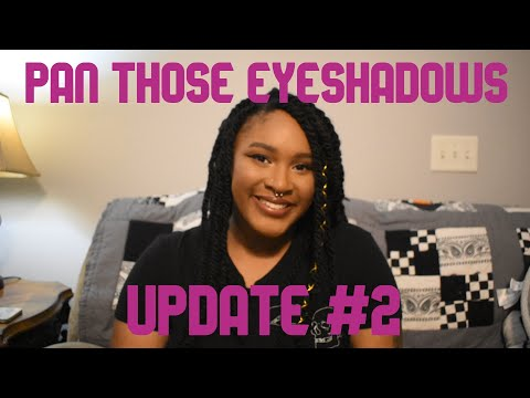 Pan Those Eyeshadows Update #2 from YouTube · Duration:  11 minutes 11 seconds