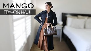 MANGO try-on HAUL FALL 2021 | Casual Office Outfits | The Allure Edition