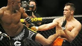 rich franklin vs anderson silva knee to the chin and ko