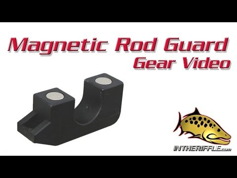 Magnetic Fly Fishing Rod Guard Holder