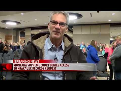 Montana Supreme Court denies Krakauer access to education