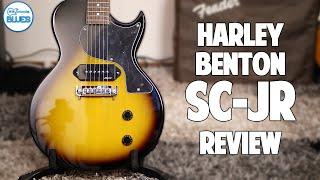 Harley Benton SC-JR Les Paul Jr Electric Guitar Review