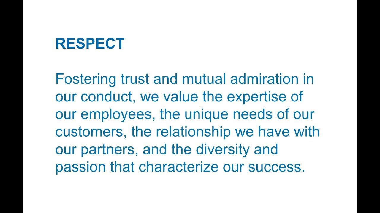 respect value