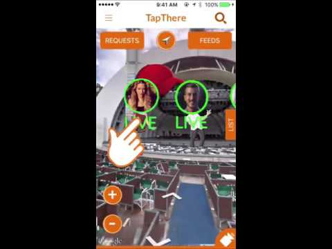 TapThere Teleportation- Augmented Reality