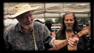 Sailin' Up, Sailin' Down - Pete Seeger (Banjo), Lorre Wyatt & Friends live on The Clearwater