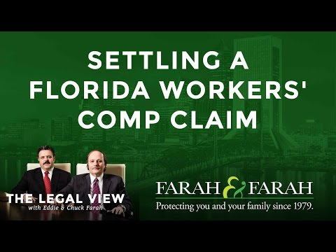 Settling a Florida Workers' Comp Claim - What Are You Entitled to?