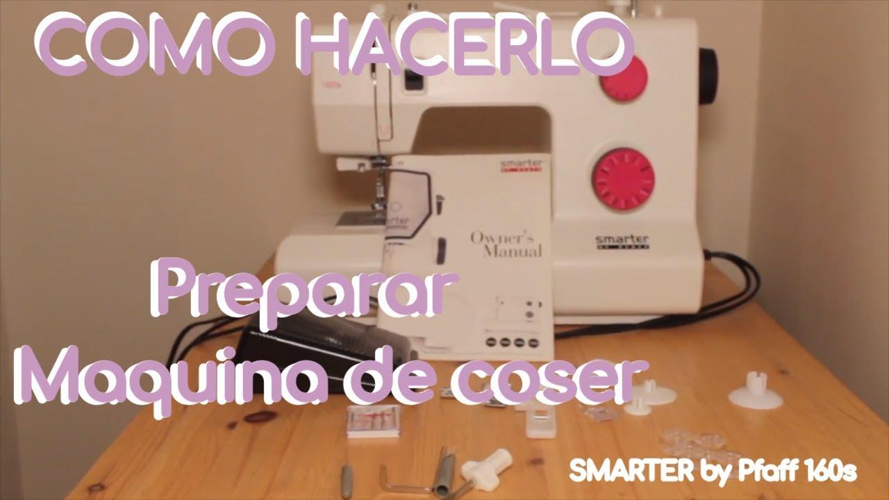 COMO HACERLO  Preparar la maquina de coser para